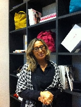 Monica De Bellis, responsabile di prodotto per il marchio di Miroglio Fiorella Rubino