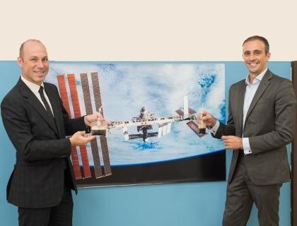 Da sinistra: Giuseppe Lavazza e David Avino