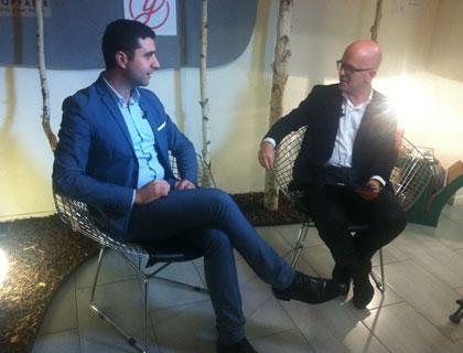 Giovanni Iozzia con Luigi Tassone, presidente di Personal Factory