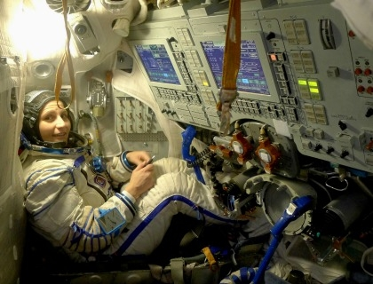 Samantha Cristoforetti, la prima astronauta italiana nello spazio