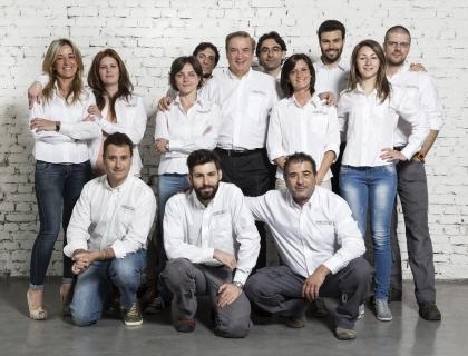 Il team delle Officine del Grafene