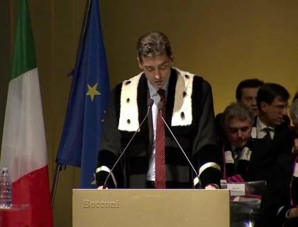 Andrea Sironi, Rettore della Bocconi