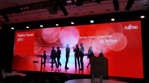 Il palco del Fujitsu Forum Munich 2015