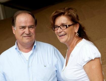 Augusto Suzzi e la moglie Laura