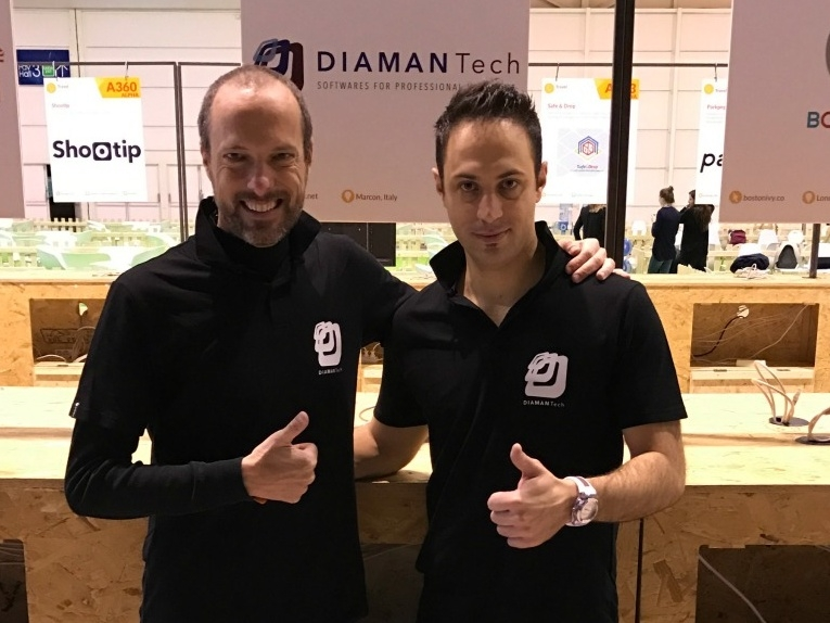 Daniele Bernardi e Michael Zanon, chairman e CEO di DIAMAN Tech