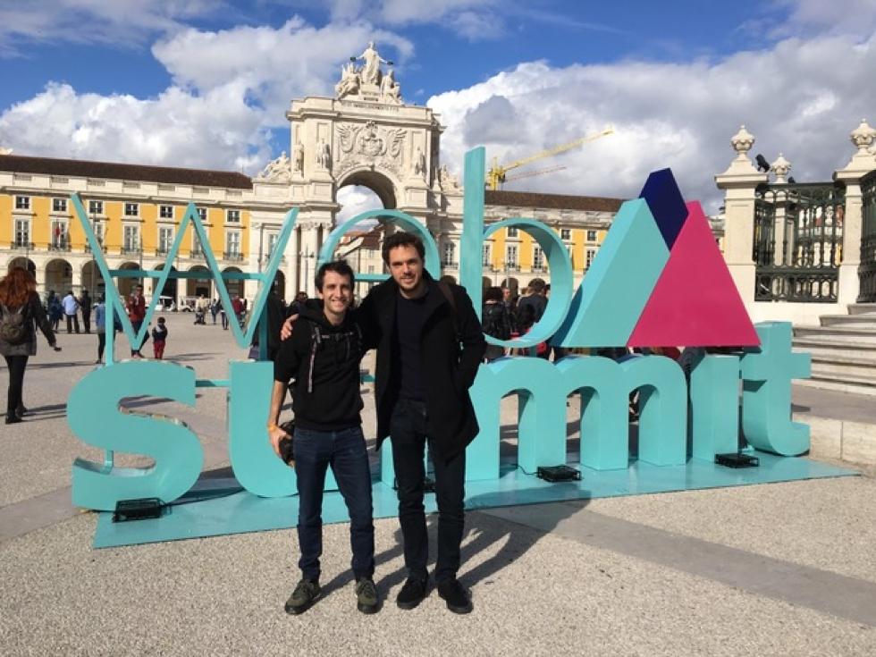 Alexis Susset e Filippo Ferraris (Enerbrain)