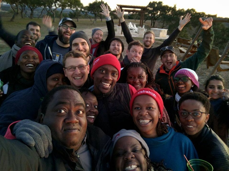 Il team di Ushahidi