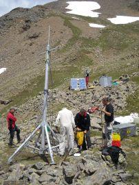 La realizzazione del servizio di connettività per un rifugio in alta montagna