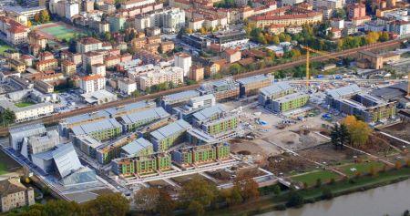La realizzazione del nuovo complesso ''Le Albere'' a Trento, esempio di progetto di ''smart building''