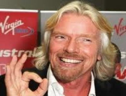 Richard Branson, patron di Virgin