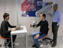 Il team di wearable light exoskeleton con i sistemi robotici