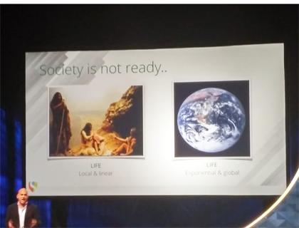 Un momento del Singularity Summit di Amsterdam