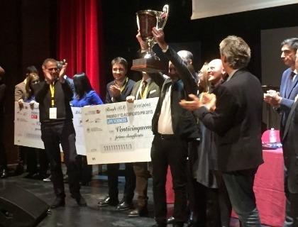 La premiazione di New Gluten World al Premio Nazionale Innovazione