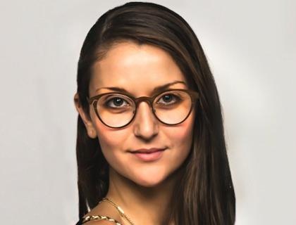 Sharon Ezra, co-fondatrice di Quattrocento Eyewear