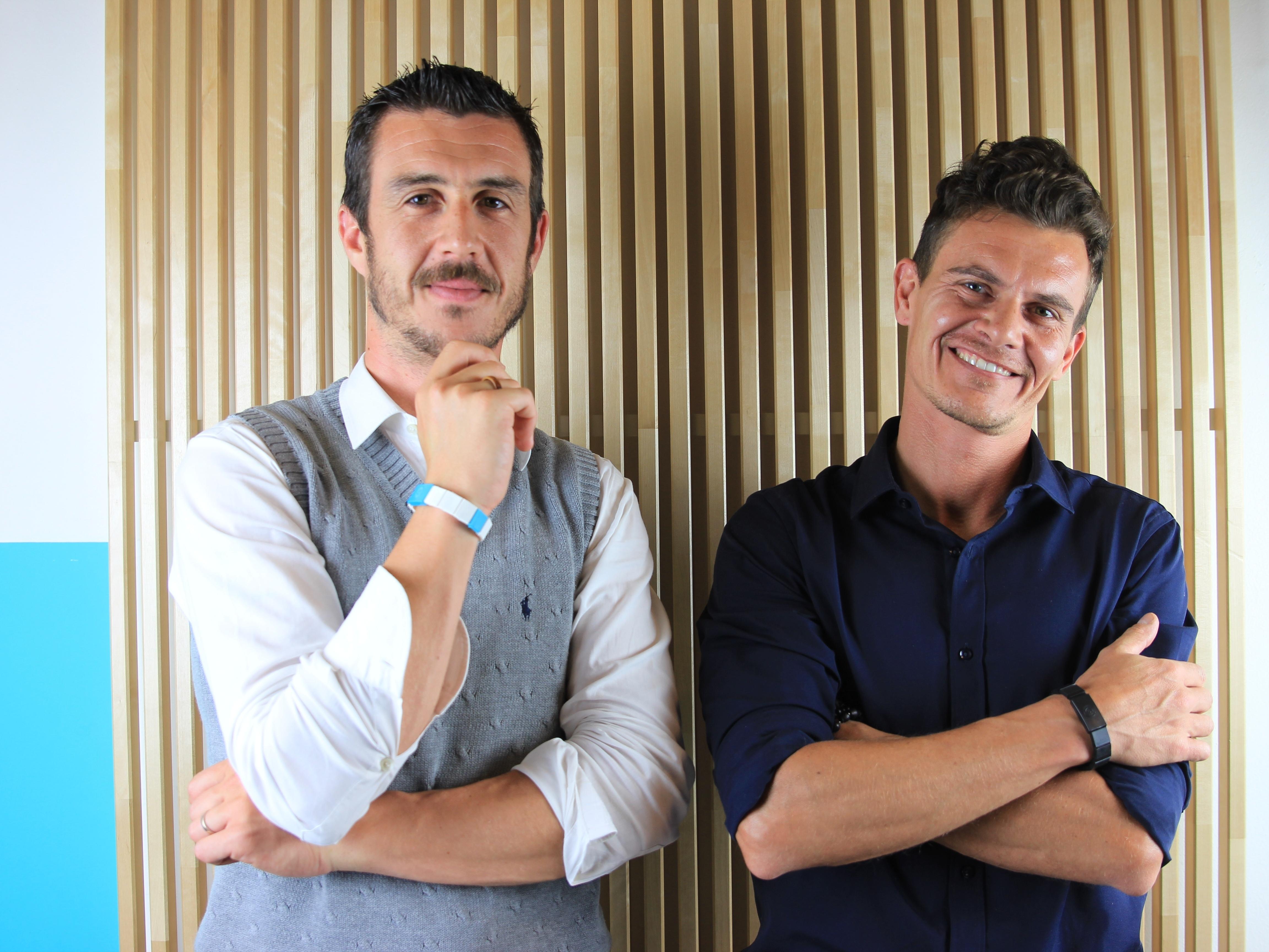 Riccardo Zanini e Filippo Scorza fondatori di Amyko