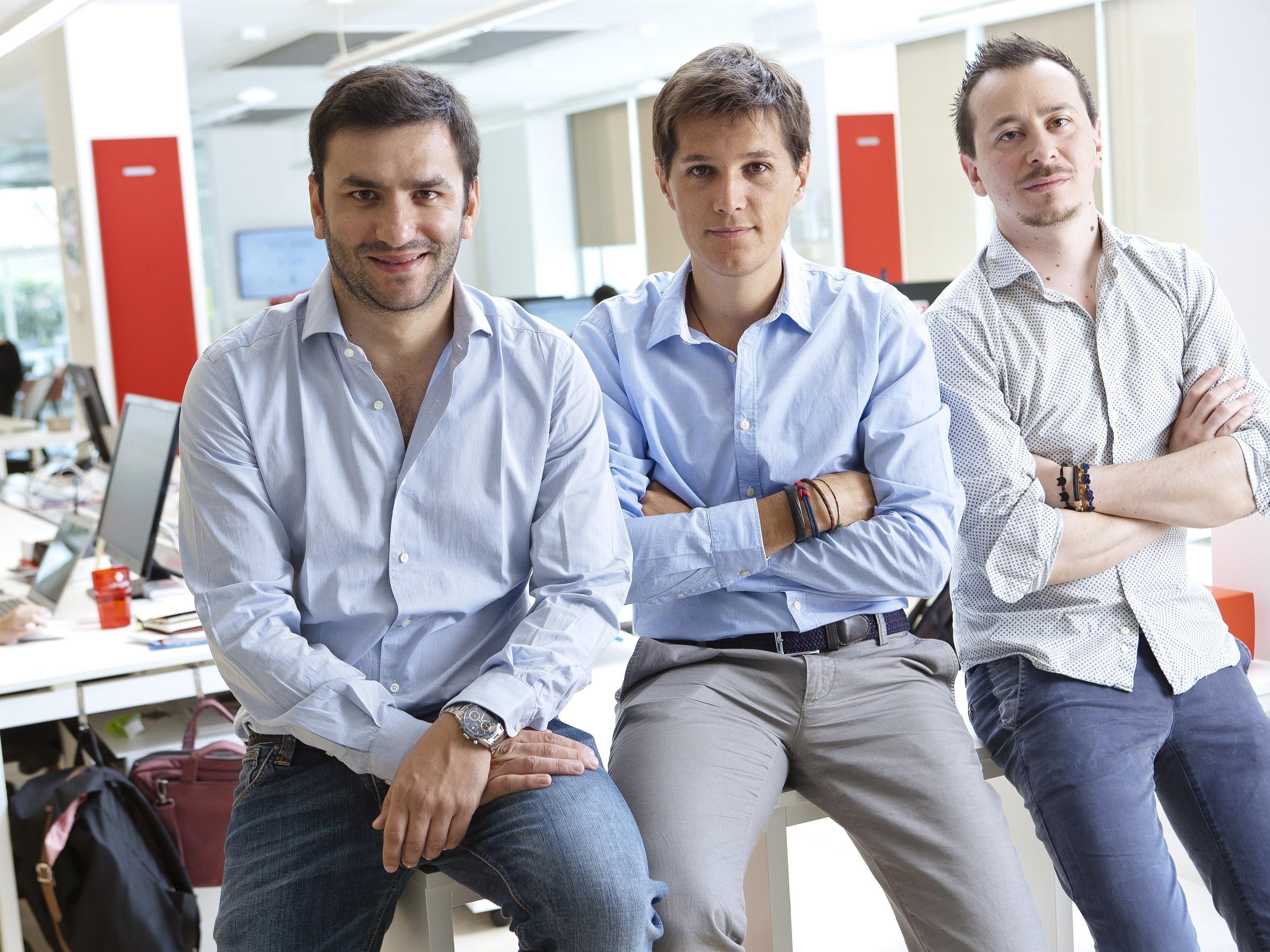 Alberto Dalmasso, Dario Brignone e Samuele Pinta, i tre co-founder di Satispay