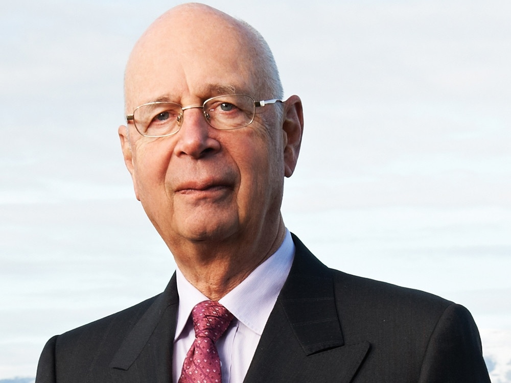 Klaus Schwab, founder ed executive chairman del World Economic Forum