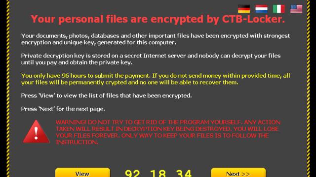 Cryptolocker recupero file